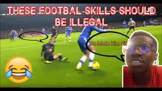 NBA Fan Reacts To Football (Soccer) Skills Should Be illegal!!!