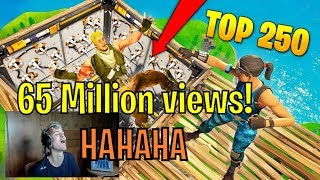 Ninja reacts to Red Arcade's Top 250 funniest fails in Fortnite