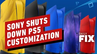 Why Sony Won't Let You Buy PS5 Custom Plates - IGN Daily Fix