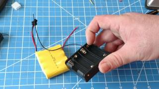 easy 4.8v battery pack conversion