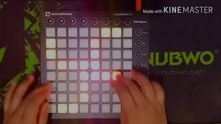 Noah Cyrus - Again (Alan Walker Remix) | Launchpad cover