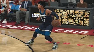 NBA 2K18 My Career - Can't Score! NFG3 PS4 Pro 4K Gameplay
