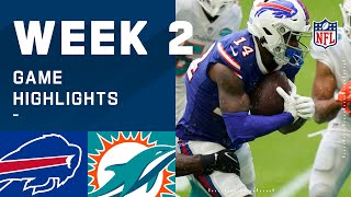 Bills vs. Dolphins Week 2 Highlights | NFL 2020