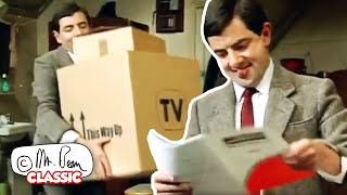 Watching TV | Funny Clips | Classic Mr Bean