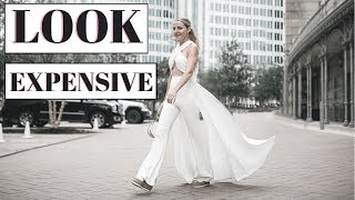 How to Look Expensive #3: 10 Shopping & Styling Tips