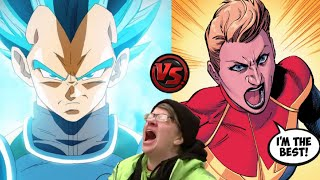 Captain Marvel is the best anime fighter! Easily takes out every Dragon Ball Super character!