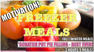 FREEZER MEALS 🧊👩‍🍳 | WEEKLY MEAL PREP 🍽 |4 EASY FREEZER MEALS FOR A LARGE FAMILY|FOOD PREP INSPO