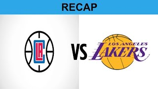 Tran Talks: What Is Your Reaction To The Results Of The Clippers vs Lakers Game?