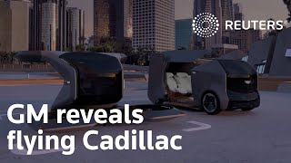 General Motors reveals futuristic flying Cadillac car