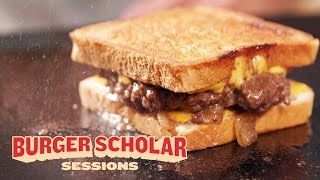 How to Cook a Perfect Patty Melt with George Motz | Burger Scholar Sessions