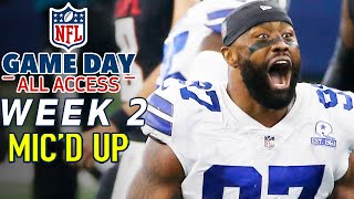 "NFL Week 2 Mic'd Up! ""It's going to be a long day for you boy"" 