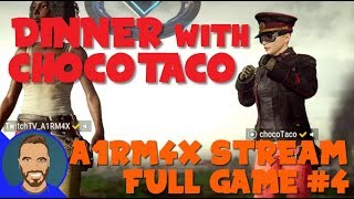 Chicken Dinner with chocoTaco! - A1RM4X Stream Full Game #4