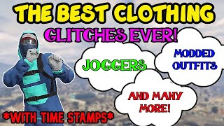 Top 25 GTA Clothing Glitches! - Best GTA Modded Outfit Glitches Ever! (GTA Modded Clothing Glitches)