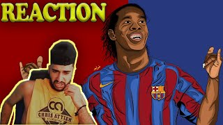 Jay Reacts to Ronaldinho - Football's Greatest Entertainment