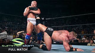 FULL MATCH - Kurt Angle vs. Brock Lesnar - WWE Title Match: SummerSlam 2003