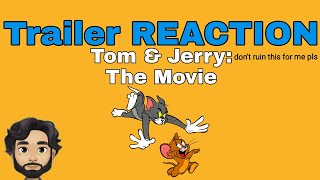 Tom and Jerry: The Movie || Trailer Reaction