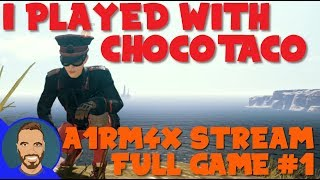 I played with chocoTaco! - PUBG Full Game