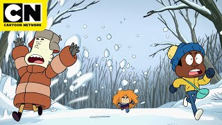 Best Snowball Fight Techniques | Craig of the Creek | Cartoon Network