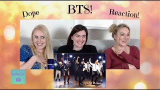 BTS: 'Dope' Reaction