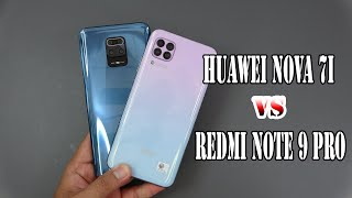 Xiaomi Redmi Note 9 Pro vs Huawei nova 7i | SpeedTest and Camera comparison