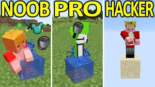 Minecraft NOOB vs PRO vs HACKER #2