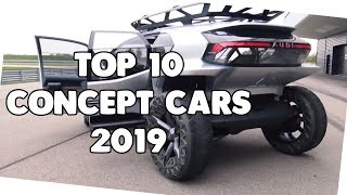 Top 10 craziest Concept Cars 2019 | @Supercar Blondie  Reaction