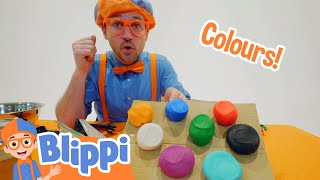 Blippi Arts And Crafts Clay and Play For Kids | Educational Videos For Toddlers