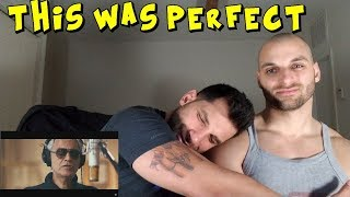 Ed Sheeran - Perfect Symphony (with Andrea Bocelli) [REACTION]