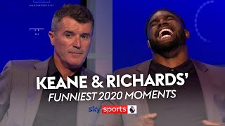 Roy Keane and Micah Richards' FUNNIEST 2020 Moments! 🤣