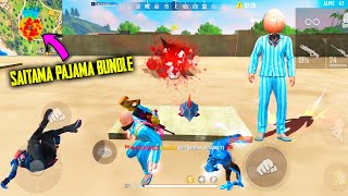I Got Saitama Pajama Bundle And Emote | Garena Free Fire King Of Factory Fist Fight - P.K. GAMERS