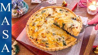 Chicken & Spinach Quiche | MASA's Cuisine ABC