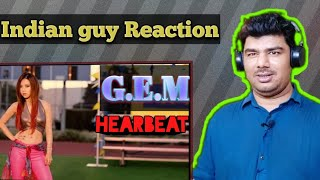 INDIAN GUY REACTION G.E.M.【新的心跳 HEARTBEAT】Official MV [HD] 鄧紫棋