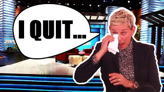 Ellen OFFICIALLY QUITS After Getting CANCELLED! (SHOCKING)