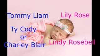 Girls&BoysNames(including what I'm going to name my future kids)#I will be Mum oneday no matter what