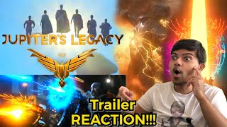 Jupiter's Legacy Official Trailer Reaction! Silhouette Against The SUN!!