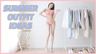 9 summer casual  outfit ideas 2020  | 1bottom - 2Outfits X 4 + bonus | ootw