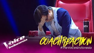 Halo Coach Armand! SUPRISEEEEEE!!! | COACH REACTION | The Voice Indonesia GTV 2019