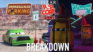 Disney+ Plus Cars Dancing with the Cars & Unparalleled Parking Shorts Breakdown (Pixar Popcorn)