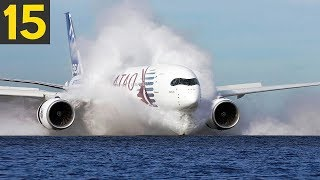 15 DANGEROUS Plane Landings - Great Pilots