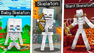 How to Tame a Pet SKELETON in Minecraft!