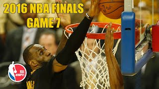 [FULL GAME] Cleveland Cavaliers vs. Golden State Warriors | 2016 NBA Finals Game 7 | NBA on ESPN
