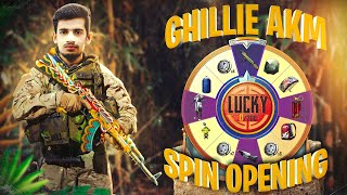 22,000 UC CRATES OPENING | GHILLIE DRAGON AKM NEW LUCKY SPIN | ibsSHAN