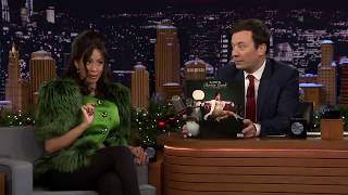 Cardi B Speaking In Tounges With Jimmy Fallon