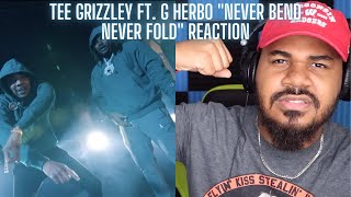 Tee Grizzley & G Herbo - Never Bend Never Fold [Official Video] REACTION