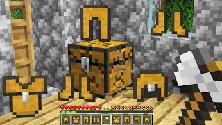 Minecraft BUT Chests Drop Chest Armor!