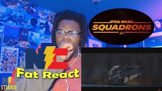 Star Wars Squadrons: Hunted Cinematic Campaign Prequel Trailer REACTION!! - Fat React!