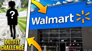 PICKING OUT A FIRE OUTFIT AT WALMART 🤯🔥 | OUTFIT CHALLENGE