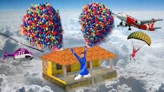 गुब्बारा घर Balloon House Funny Comedy Video हिंदी कहानिया Hindi Kahaniya - Comedy Stories in Hindi