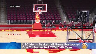 USC Men's Basketball Game Postponed Due To Suspected COVID-19 Case