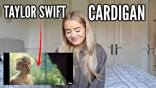 REACTING TO TAYLOR SWIFT- 'CARDIGAN' Music Video *Folklore album*